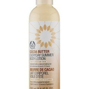 The Body Shop Cocoa Butter Tanning Body Lotion 8.4